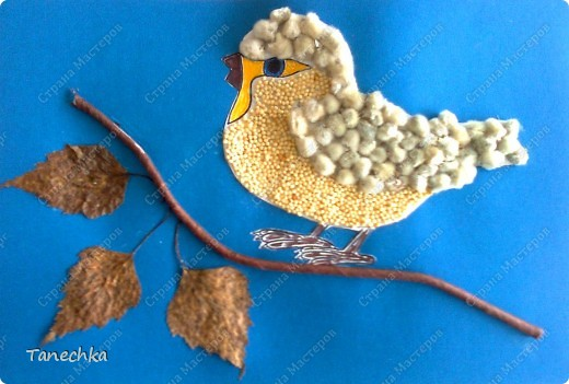 Поделки из природных материалов на тем птиц 36